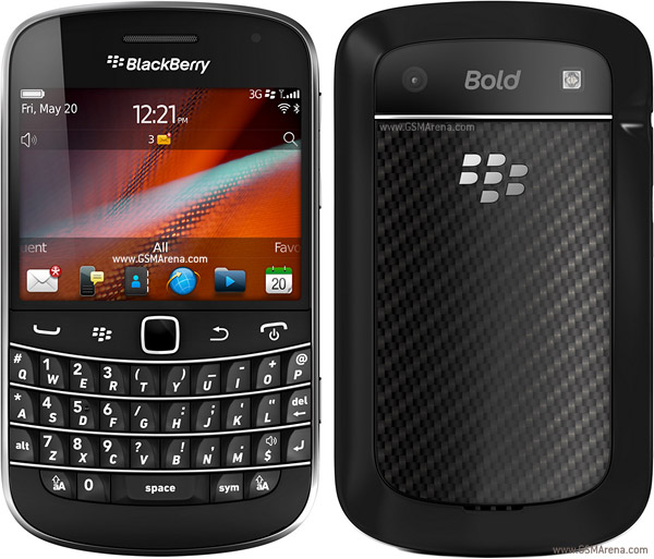 dépannage blackberry bold touch 9900