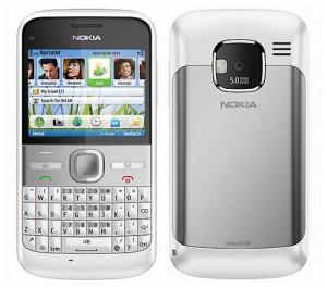 dépannage Nokia E5